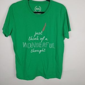 Green t shirt short sleeve wonderful, XXL